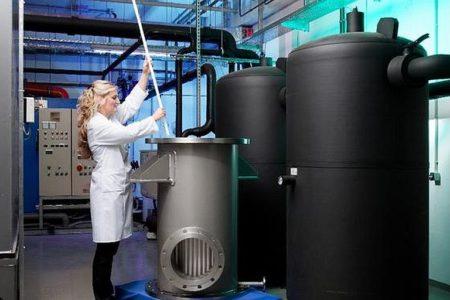Keramik trennt Wasserstoff und Sauerstoff