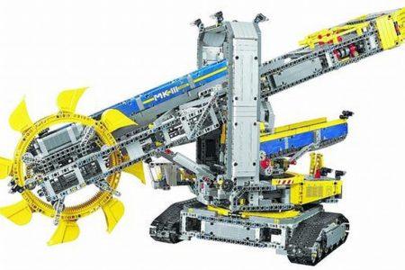 Wunderwerk aus Legosteinen