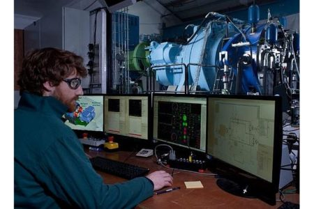 Hydraulik bringt Windenergie zum Generator