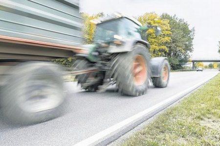 Damit Traktoren nicht blockieren