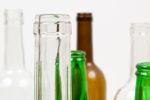 Altglas automatisch nach Farben sortiert