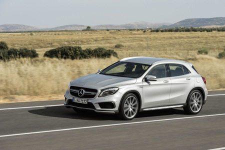 Über Stock und Straße mit dem Mercedes GLA