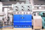 Dampf im Kraftwerk recycelt