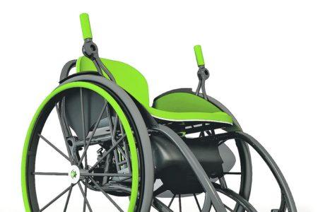 Der bewegte Rollstuhlfahrer