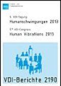 Humanschwingungen 2013