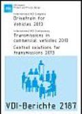 Drivetrain for Vehicles 2013