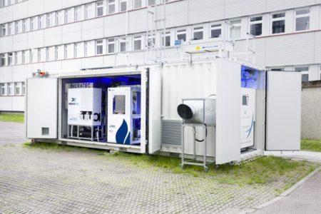 Kraftstoff aus Luft und Strom produziert