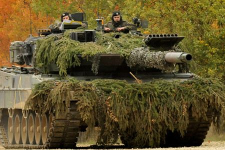Der Leopard 2 begeht sein 40. Dienstjubiläum