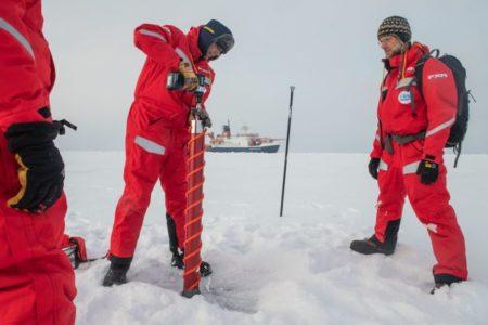 Arktis-Expedition MOSAiC findet geeignete Eisscholle für Forschungslager