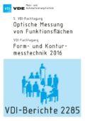 Form- und Konturmesstechnik 2016