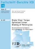 Bremslenkmomentoptimierte Kurvenbremsung von Motorrädern