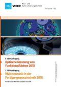 Optische Messung von Funktionsflächen 2018 – Multisensorik Fertigungsmesstechnik 2018