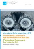 International Conference on Gears 2019