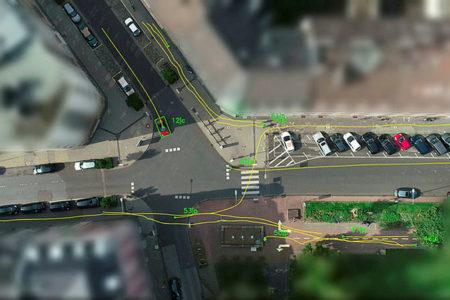 Drohnen helfen Unfälle zu vermeiden