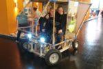 Mit dem Bambusauto auf die Automatisierungsmesse SPS