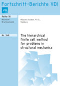 The hierarchical finite cell method for problems in structural mechanics