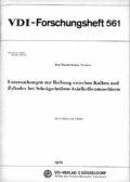 Untersuchungen zur Reibung zwischen Kolben und Zylinder bei Schrägscheiben-Axialkolbenmaschinen