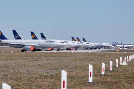 Lufthansa unter die Flügel gegriffen