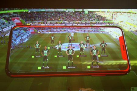 Fußball-Arenen rüsten sich mit 5G-Technik