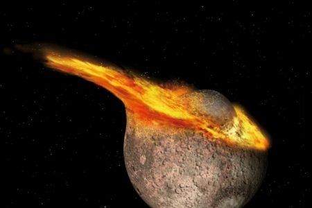 Die Verjüngung des Mondes