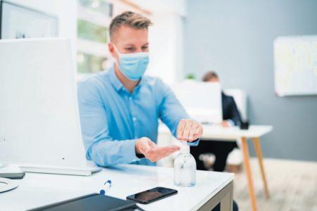 """""""Desinfektionsgel kann nicht das Mittel der Wahl sein"""""""