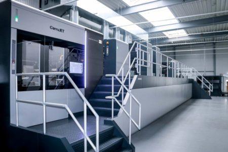 Corona-Bremsspuren im Druckmaschinenbau