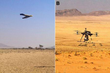 Drohnen suchen Seltene Erden