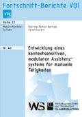 Entwicklung eines kontextsensitiven, modularen Assistenzsystems für manuelle Tätigkeiten