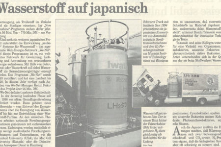 Wasserstoffpionier Japan