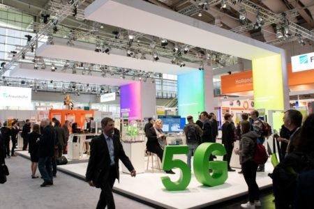 Riesiges 5G-Netz auf Hannovers Messegelände