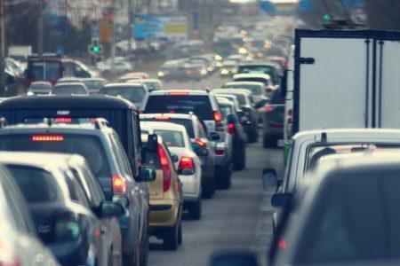 Verkehrssimulation mit Luftdaten