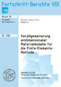 Verallgemeinerung eindimensionaler Materialmodelle für die Finite-Elemente-Methode