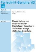 Rissverhalten von unidirektionalen Flachsfaser-Epoxidharz-Verbunden infolge statischer Belastung