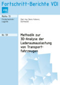 Methodik zur 3D-Analyse der Laderaumauslastung von Transportfahrzeugen