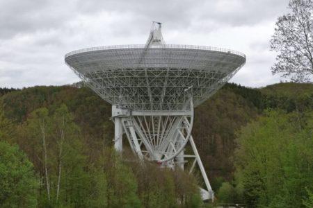 """Das """"Weltraumohr"""" in der Eifel"""