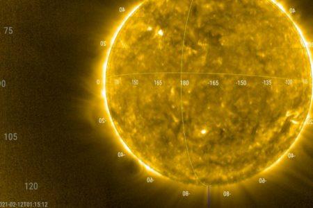 Bilder vom Sonnenwind