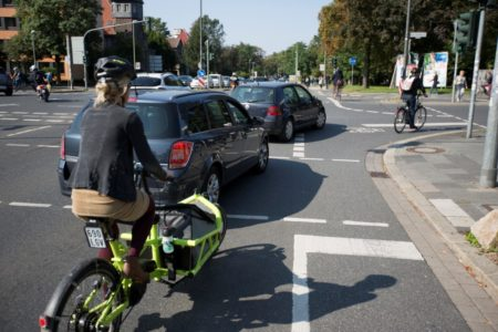Digitale Technik soll Radfahrer im Verkehr besser schützen