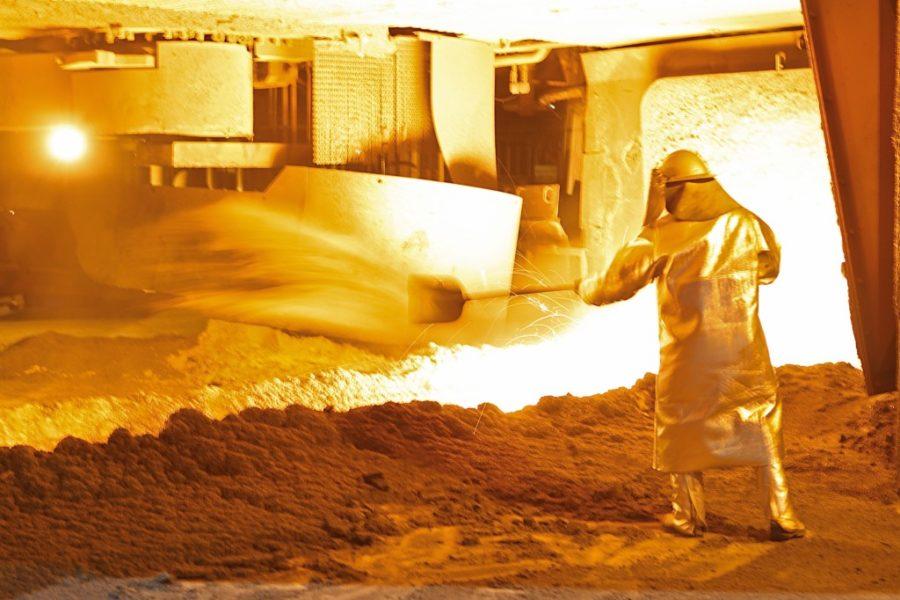 Stahlproduktion zieht an