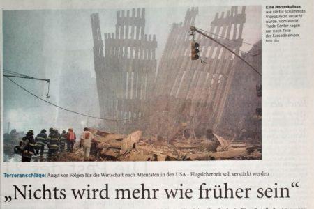 11. 9. 2001: Ein Dienstag wie kein anderer