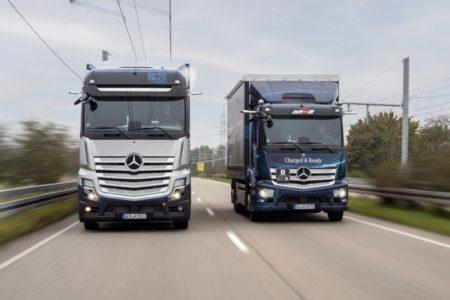 Daimlers Brennstoffzellen-Lkw erhält Straßenzulassung