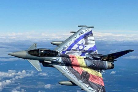 Luftwaffe übt über der israelischen Wüste